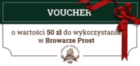 Voucher z Browaru Prost to idealny prezent dla wielbicieli dobrego piwa.