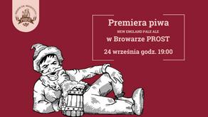Premiera piwa NEW ENGLAND PALE ALE