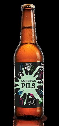 Piwo rzemieślnicze American Pils - duże.