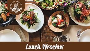Menu lunchowe w Browarze PROST!