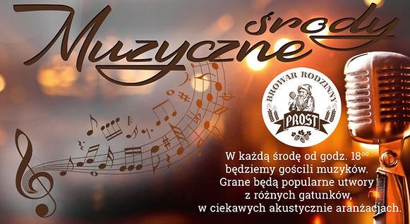 W trakcie wydarzeń będą grane różne gatunki piosenek, przyjdź w najbliższą środę do Nas i ciesz się muzyką na żywo!