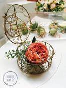Stroik stolika ślubnego
