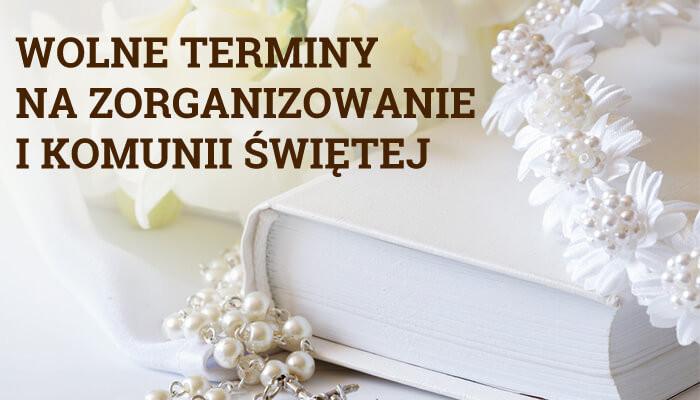 Szukasz miejsca na komunię we Wrocławiu? Serdecznie zapraszamy do Nas – mamy wolne terminy!