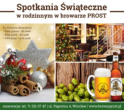 W naszej restauracji czuć już świąteczny klimat – choinki, bombki, zapach cynamonu!
