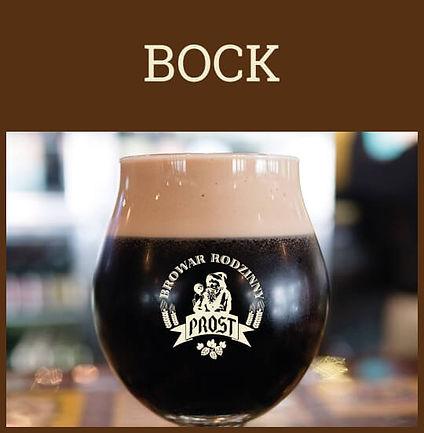 Piwo Bock posiada ciemną, klarowną barwę oraz gęstą pianę - podawany jest w pokalu.