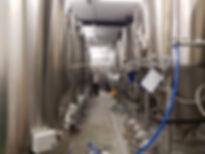 Produkcja piwa w kadziach
