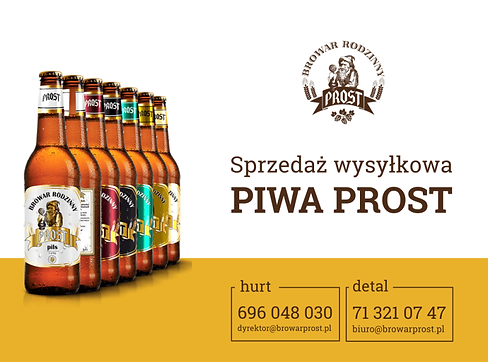 Już teraz możesz dokonać zakupu piwa, korzystając z sprzedaży wysyłkowej.