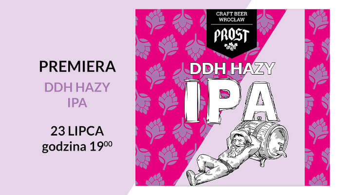 Sprawdź smak premierowego piwa i oceń nowe etykiety piw kraftowych w Browarze PROST
