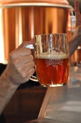 Pierwsze piwo browaru PROST