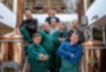 Pracownicy browaru rzemieślniczego