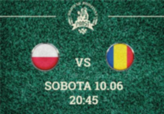 W sobotę będzie transmisja na żywo meczu Polska vs Rumunia, przybywaj wPROST do Browaru, aby pokibicować naszym!