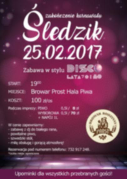 Poznaj szczegóły na zabawę karnawałową 2017 we Wrocławiu.