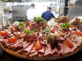Deska mięsnych przystawek