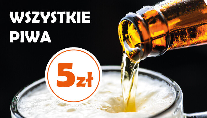 Kup piwo rzemieślnicze za 5 PLN!