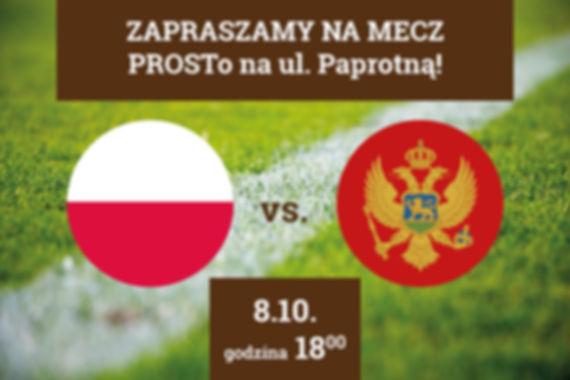 Mecz Polska vs Czarnogóra odbędzie się 8 października 2017 roku o godzinie 18:00.