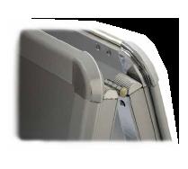 a frame display close up