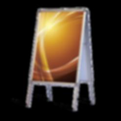 a frame display