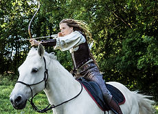 Les flèches de Diane - Cécile Bredeaux - Highly Commended Image at the Horseback Archery Photographer of the Year Awards 2017.