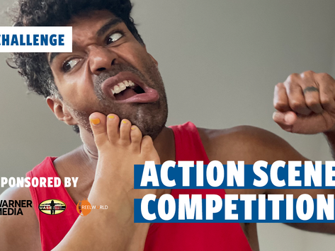 Enter the Action Scene Competition + Jan Gets Hit in the Face