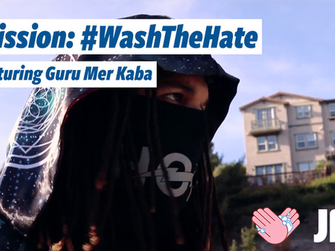 Guru Mer Kaba's Excellent #WashTheHate Mission