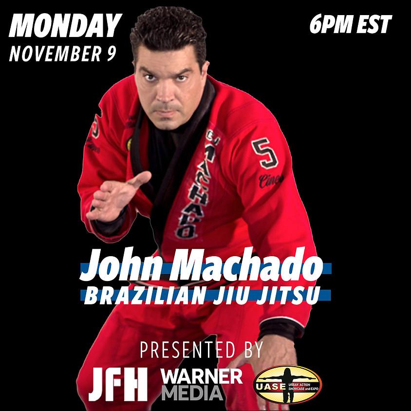 Brazilian Jiu Jitsu w/ John Machado