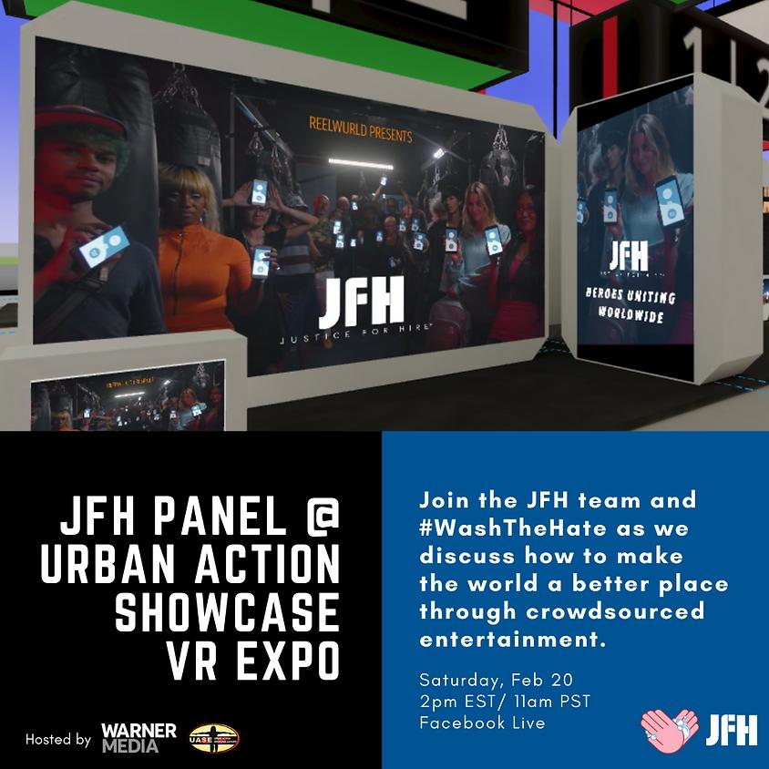 JFH Panel @ WarnerMedia's Urban Action Showcase VR Expo