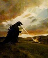 Godzilla Destroying my Neighborhood