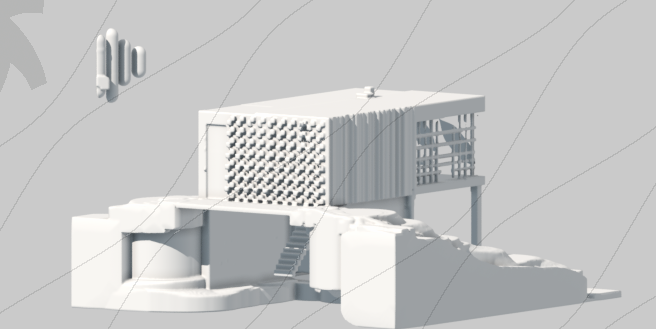 Olympus House Sketch 2