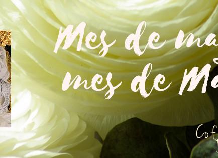 🌾Dedicamos el mes de mayo a María, a la dulce Reina de nuestras vidas 🌾