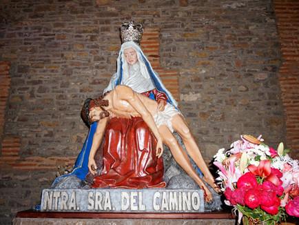 Marcha a la Virgen del Camino