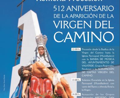 PROCESIÓN – ROMERÍAque conmemora el512 Aniversario de la Aparición de la Virgen del Camino