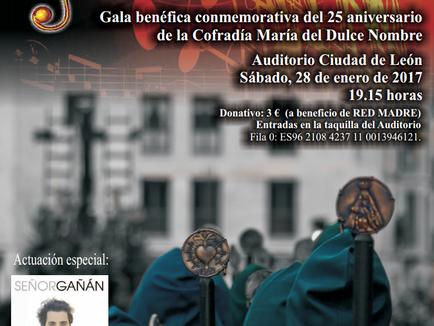 María del Dulce Nombre conmemora su 25 aniversario con una gala benéfica