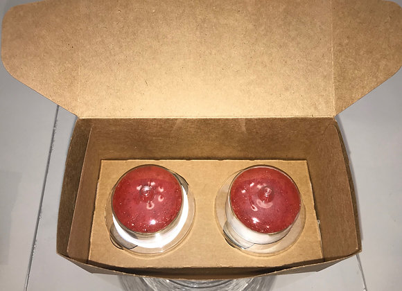2 Strawberry Minis