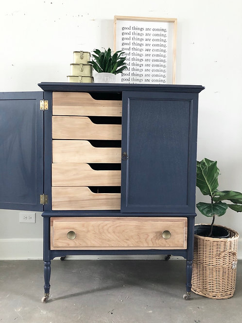 Ole Blue Chest of Drawers / Dresser