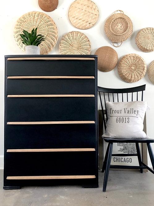 Tuxedo Vintage Dresser