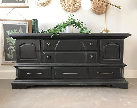 Black Transitional Buffet / Dresser