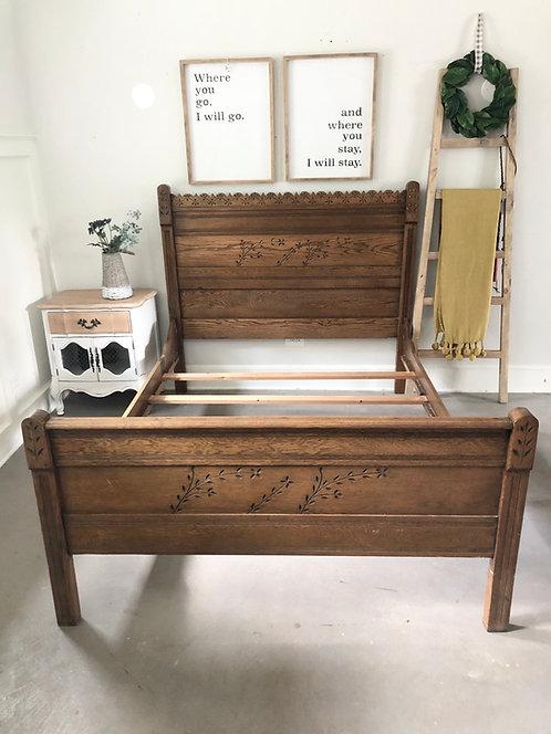 Full Antique Bed