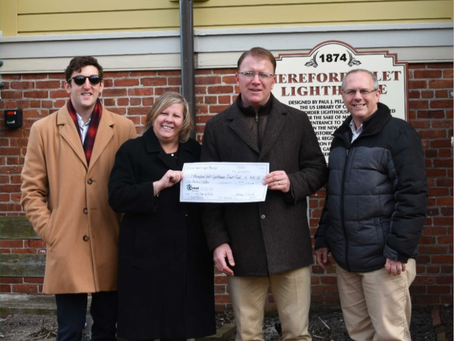 Crest Savings Bank Supports Hereford Inlet Lighthouse Trust Fund