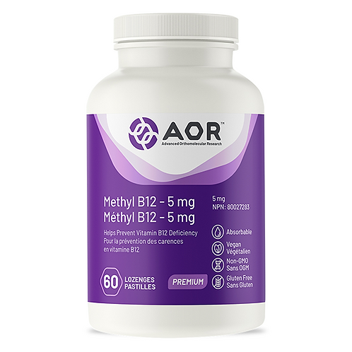 AOR Methyl B12 – 15 mg