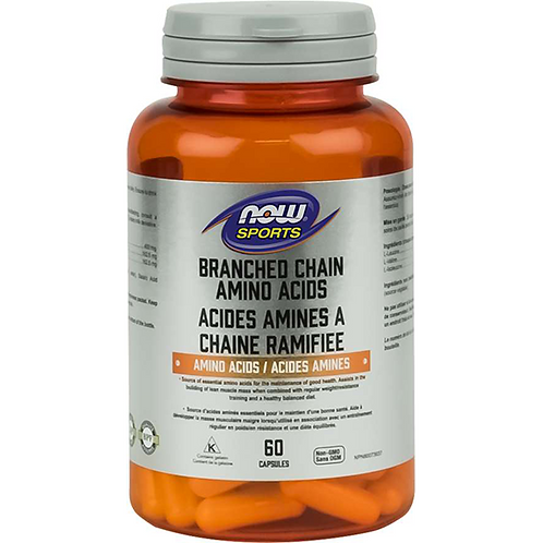 Now Branch Chain Amino Acids Capsules