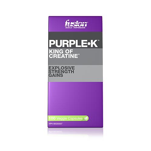 Fusion PURPLE•K® 100 capsules