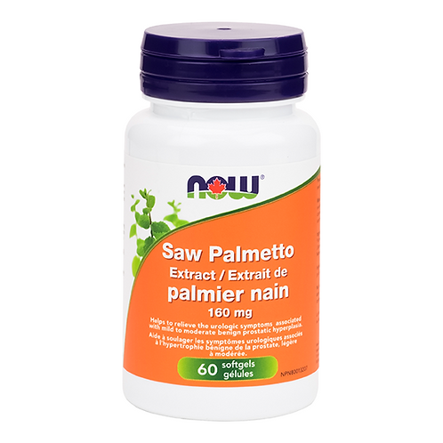 Now Saw Palmetto 160mg 60 softgel