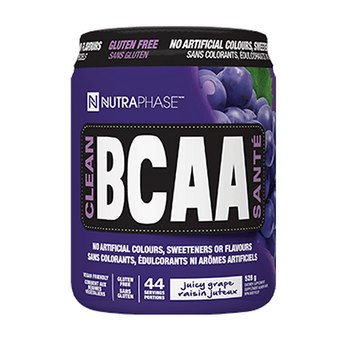 NutraPhase Clean BCAA Grape