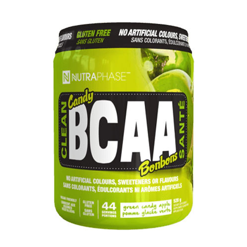 NutraPhase Clean BCAA Green Candy Apple