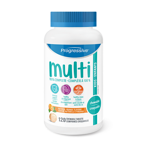 Progressive Multi for Kids 120 Capsules