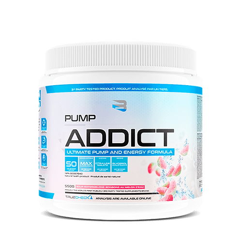 Believe Supplements Pump Addict Sour Watermelon
