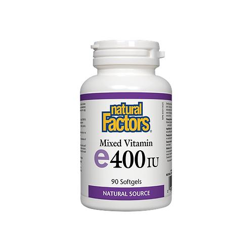 Natural Factors vitamin E 90 softgels