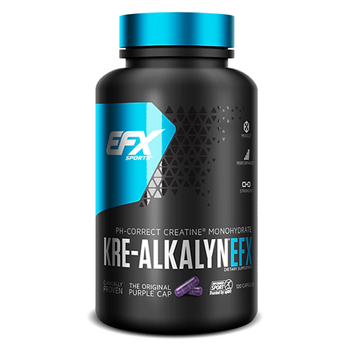 EFX Sports Kre Alkalyn EFX 120 capsules