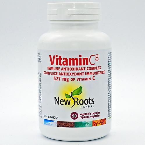 New Roots Vitamin C8 90 Caps