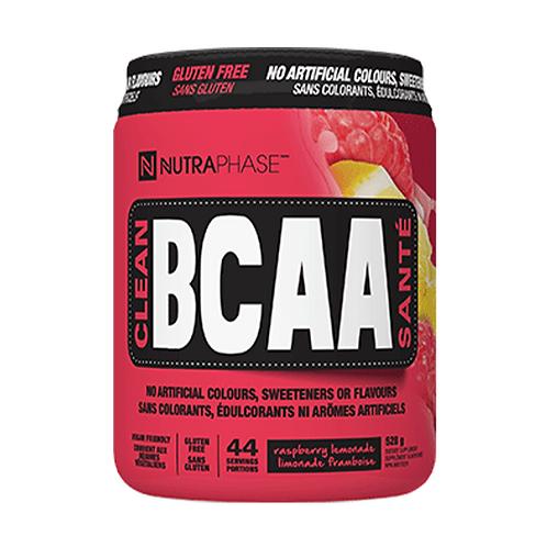 NutraPhase Clean BCAA Raspberry Lemonade